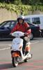 IO-scooter Testfahrt
