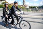 Markwalder und Bruderer auf E-Bike