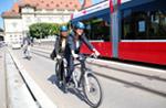 Riklin und Gadient auf Elektro-Bike